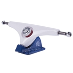 GULLWING | 50° Charger Longboard Trucks - White/Blue (Single)